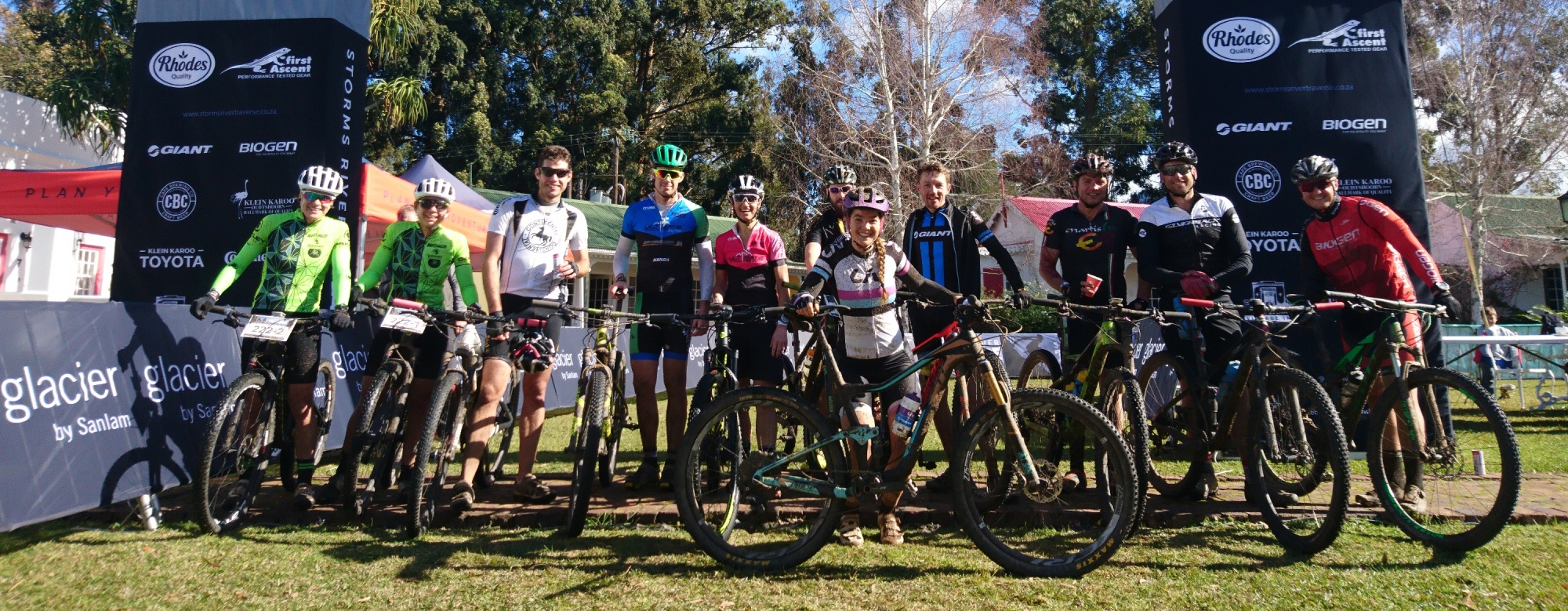 Diarise the 2018 Glacier Storms River Traverse