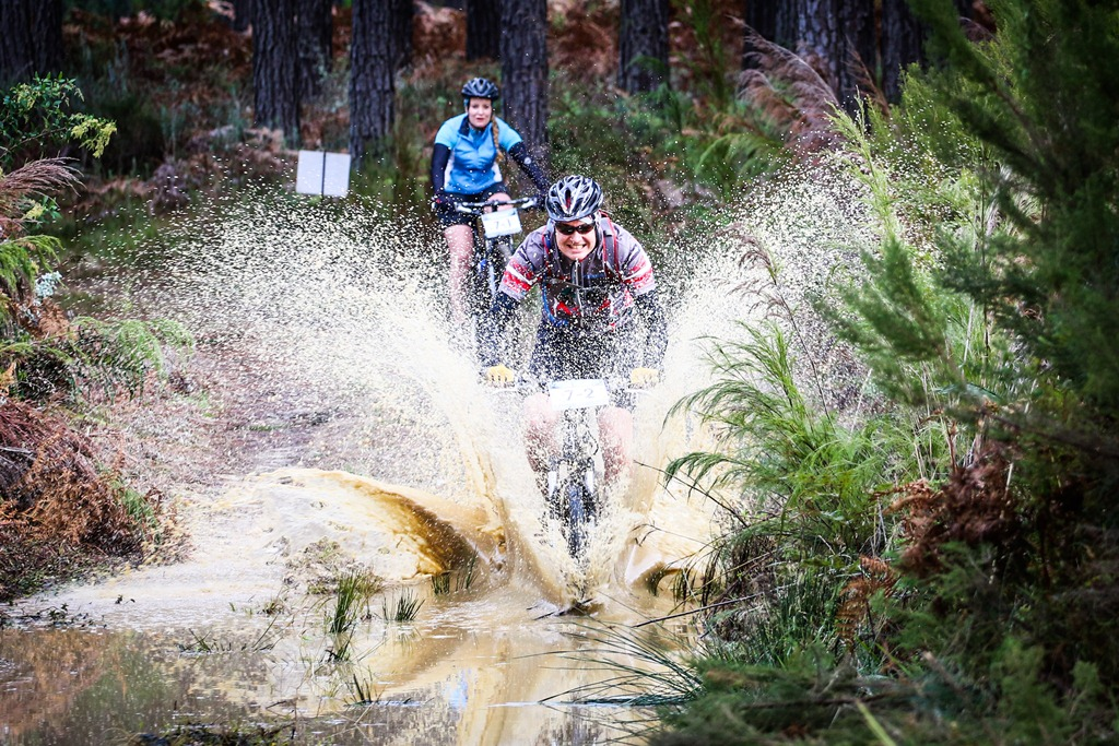 The Glacier Storms River Traverse is often one of the wettest and muddiest events on the calendar, so pack your wet weather gear. Photo by Oakpics.com.