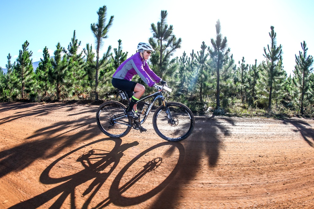 The sun came out for Stage 3, which provided a warm end to what was at time a wet weekend at the Glacier Storms River Traverse. Photo by Oakpics.com.